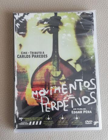 """Dvd novo selado"""" Momentos Perpétuos Cine-,,Tributo a Carlos Paredes"""""""