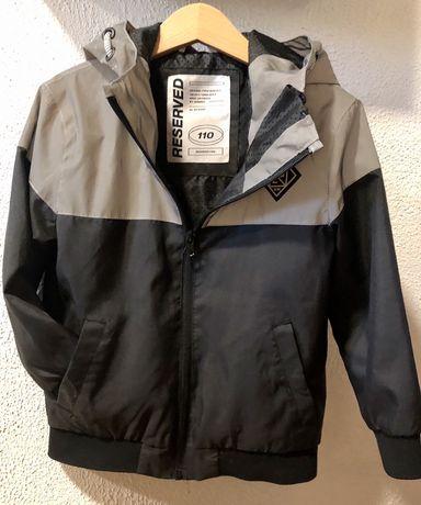 Sprzedam kurtkę z odblaskami firmy Reserved rozm. 110