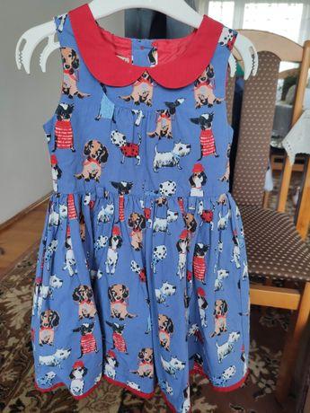 Sukienka Next 92 print pieski