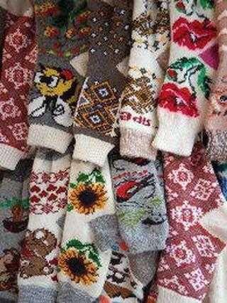 Шерстяні шкарпетки капчури