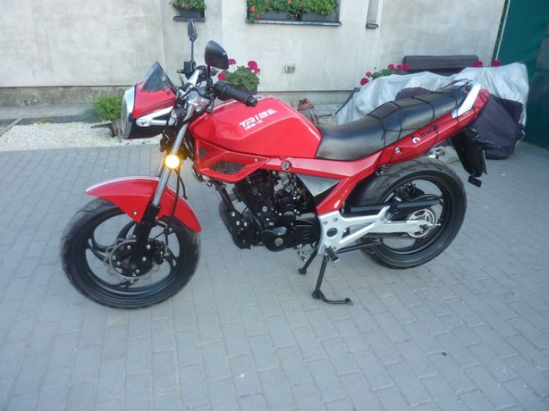 Motocykl 125 Inca Tribe