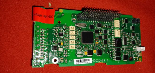 Плата ABB подключения энкодера к частотному преобразователю ACS 310