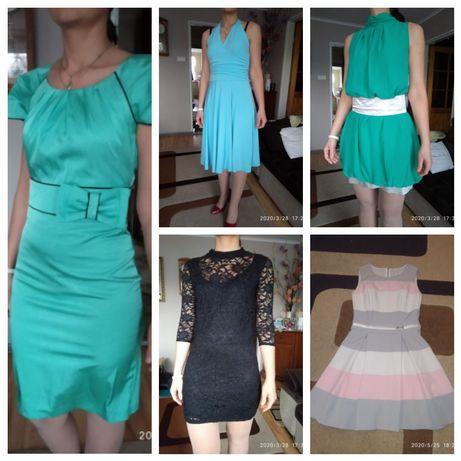 sukienki, sukienka 36 S