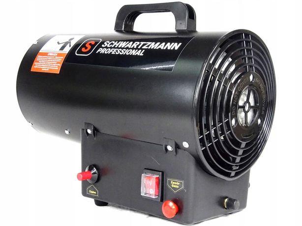 Nagrzewnica dmuchawa gazowa 15kW + wąż i reduktor SCHWARTZMANN