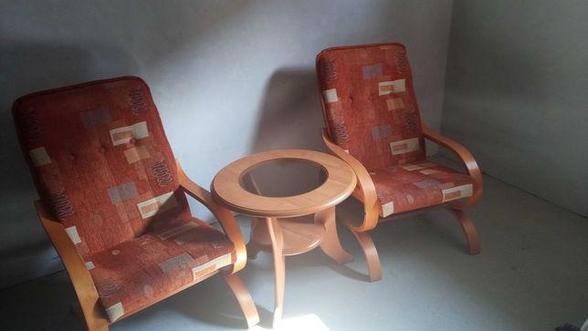 Kanapa rozkładana+2 fotele +stolik