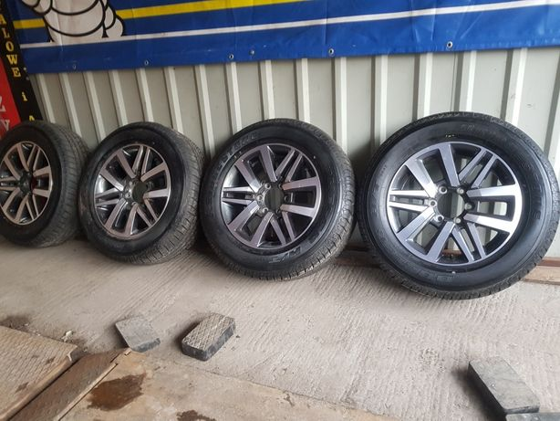 Koła Aluminiowe Nowe Toyota Hilux-Landcruiser R18 6x139.7-265/60-2017