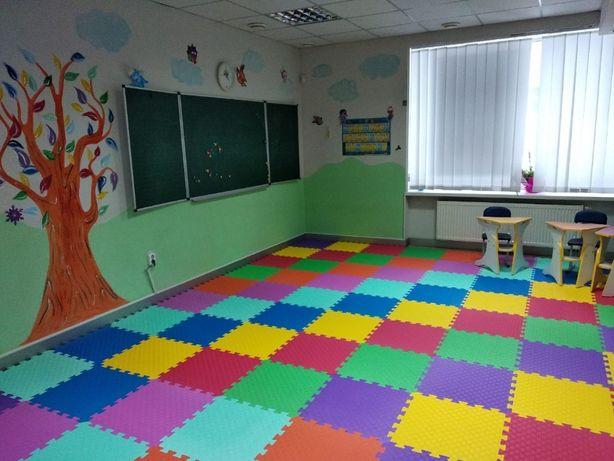 М'яка підлога в дитячий садок, школу. З материалу Эва