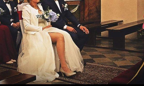 Suknia ślubna na większy biust