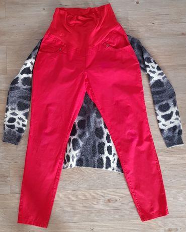 Spodnie ciążowe Happy mum L i sweterek h&m M