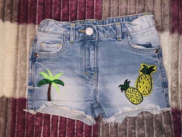 Классные джинсовые шорты Tu 4-5л