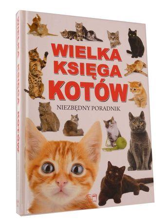 Wielka Księga Kotów Niezbędny Poradnik 2810