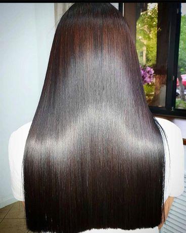 АКЦИЯ на Кератиновое выпрямление волос