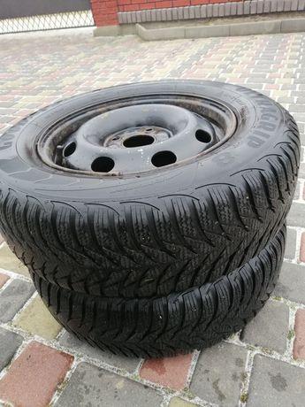 2 Колеса взборі Goodyear ultragrip 8 шини з дисками зимова резина R 13