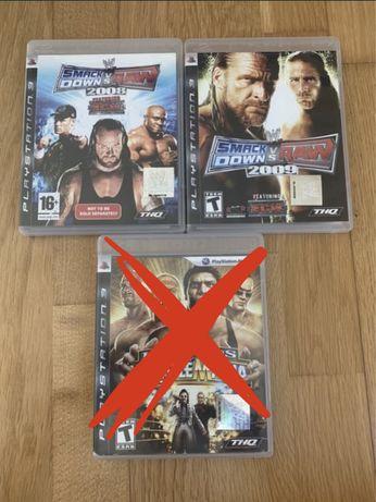 Jogos Wrestling PS3
