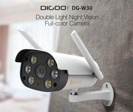 Camera Video Vigilancia WIFI 1080P - Exterior Dual Led Visão Noturna