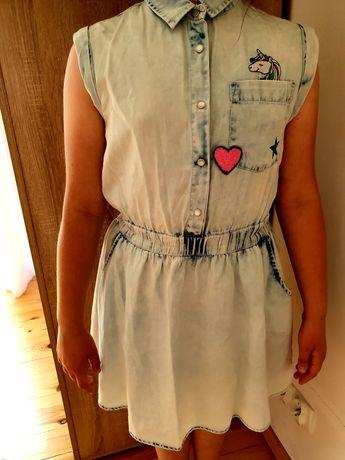 Sukieneczka dżinsowa dla dziewczynki