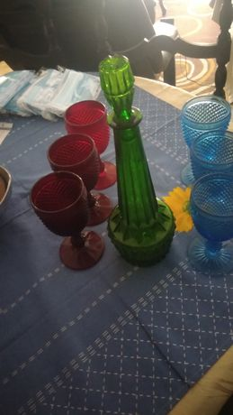 garafa  e copos coleção