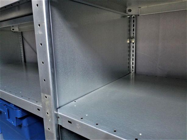 REGAŁ 64x200x400cm/15p OCYNKOWANY Metalowy Magazynowy Garażowy.