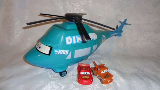 DINOCO- Duży interaktywny Samolot-Autka cars