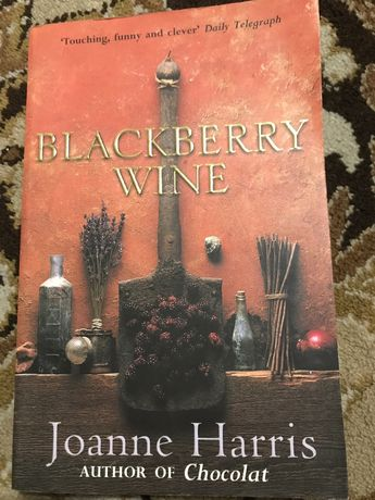 Joanne Harris Blackberry wine  подарунок книга английский