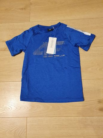 Chłopięca koszulka sportowa rozmiar 128 Nowa