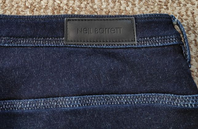 NEIL BARRETT джинсы skinny made in Italy Оригинал размер W34 или 36