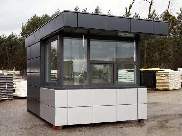 Stróżówka portiernia kiosk z WC 12m2