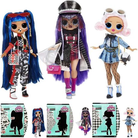 LOL Surprise O.M.G. Uptown Girl, Downtown Girl, Shadow, Candylicious