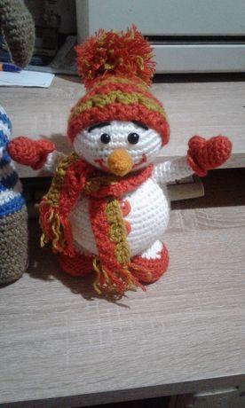 Кукла вязанная игрушка сувенир подарок для детей и взрослых