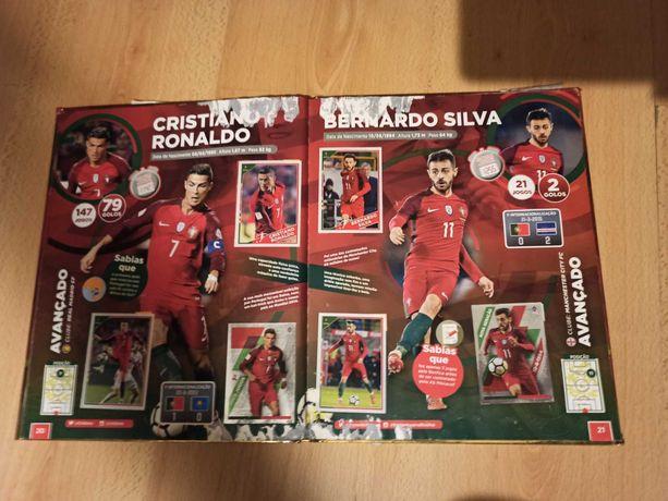 Caderneta de cromos da seleção Nacional Mundial 2018