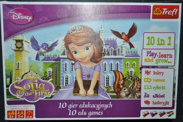 Jej wysokość Zosia gra planszowa Disney 10 w 1