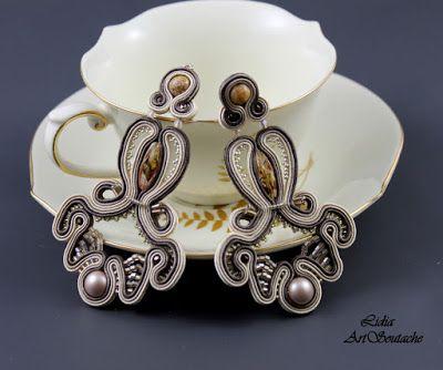 Kolczyki sutasz nr 12 elegancka biżuteria