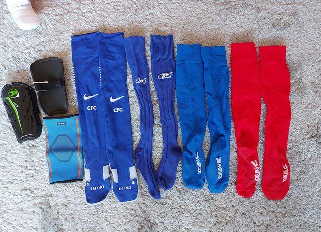 Skarpety do gry w piłkę Nike Chelsea FC, Rbk 34-38 ochraniacze gratisy