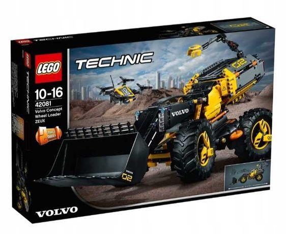 Lego technic 42081 Ładowarka kołowa ZEUX