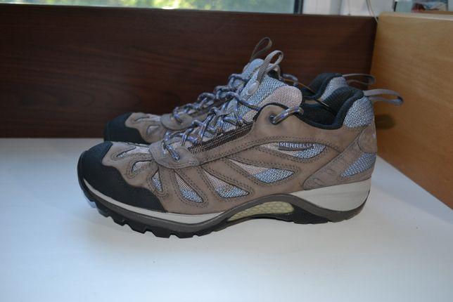 merrell 40р ботинки кожаные. кроссовки демисезон.
