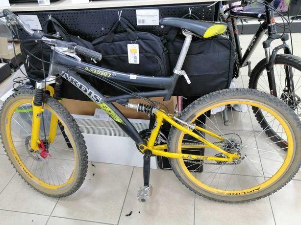 велосипед Ardis Laser R26 AMT алюминиевый двухподвес горный