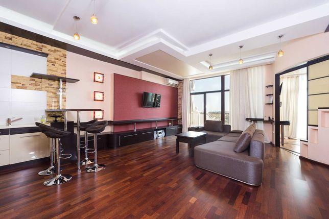 VIP-апартаменты в Аркадийском Дворце с видом на море(2мин ходьбы)