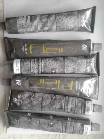 Професійна фарба для волосся  AJitalia з аргановою олією, 100мл