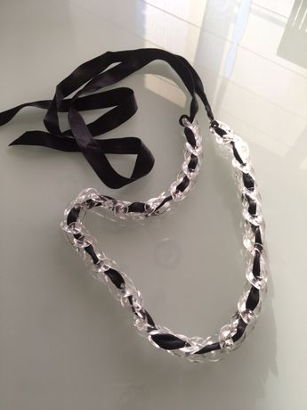 нарядный пояс на девочку, Liu Jo, оригинал Пластиковая цепь, атласная