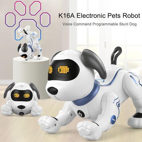 ХИТ! Интерактивная собака робот р/у на радиоуправлении Stunt Dog K16