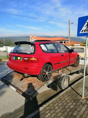 Peças Honda Civic 1.5 LSI 1994 boa mecânica todo material disponível
