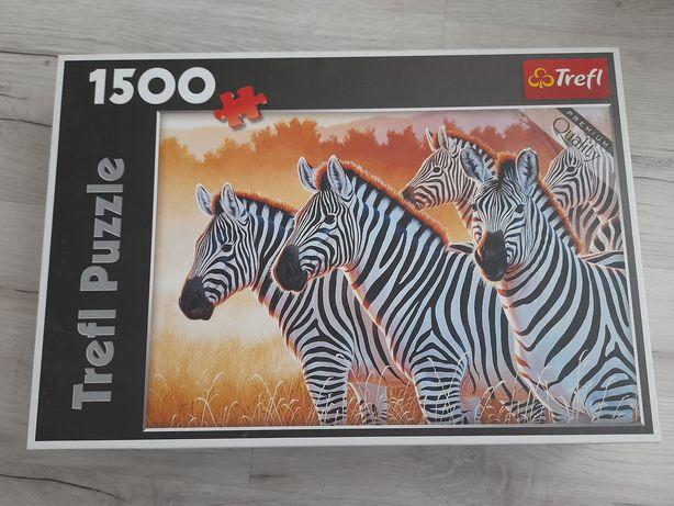 Puzzle Trefl - zebry