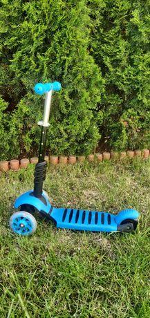 Hulajnoga-jeździk Trójkołowa Balansowa LED