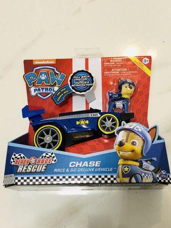 Psi Patrol Auto z Figurką Marshall Chase Rubble Sky