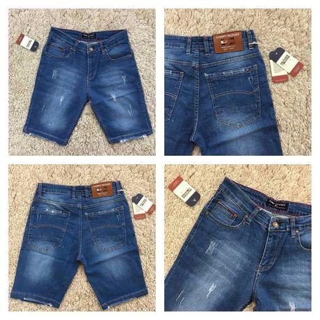 Spodenki męskie jeansowe Tommy Hilfiger rozmiar 30-38