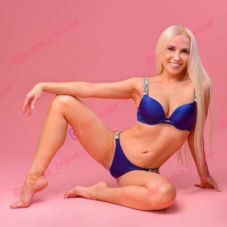 Комплект белья Victoria's Secret Very Sexy Push-Up. Камни Сваровски.