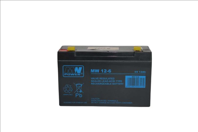 Akumulator MW Power MW 12-6 12Ah