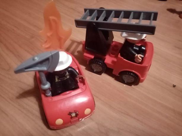 Lego Duplo małe wozy strazackie
