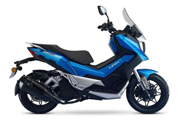 Инжекторный скутер с водяным охлаждением Lifan KPV