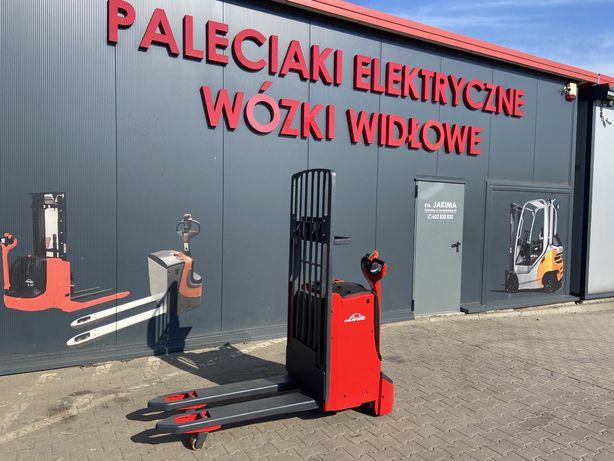 Paleciak elektryczny Linde T 16 L 2014 r 72 cm 1600 kg